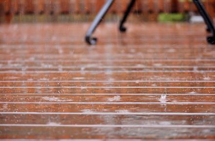 Wet Patio Deck