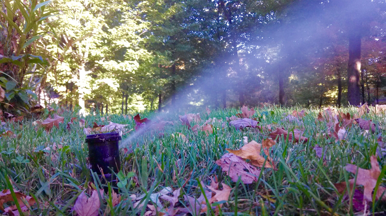 sprinkler system winterization Oklahoma City