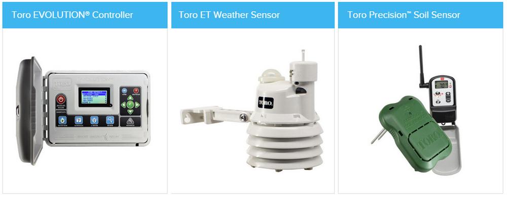 Three Off Toro Irrigation Products