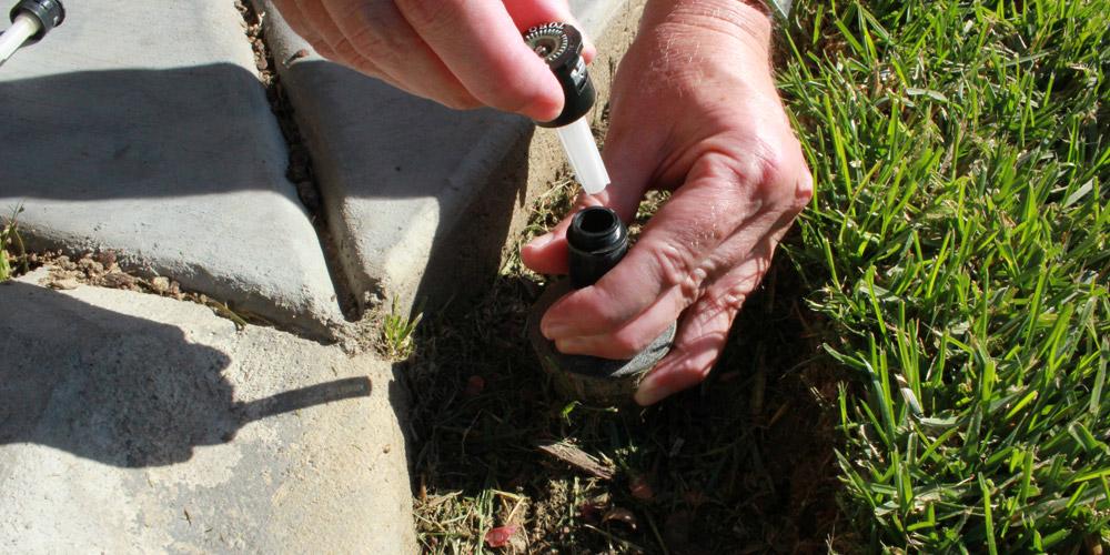 sprinkler head repair Raleigh NC