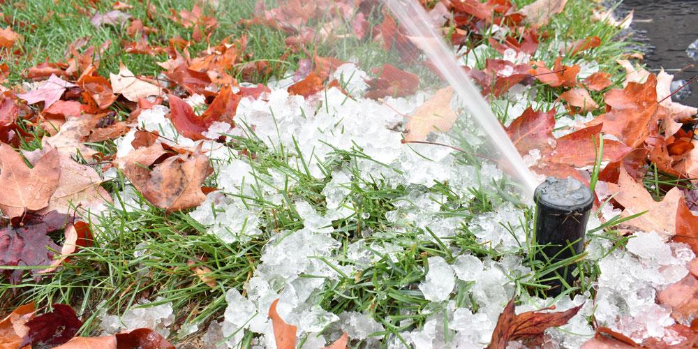 sprinkler winterization Williamsburg Virginia