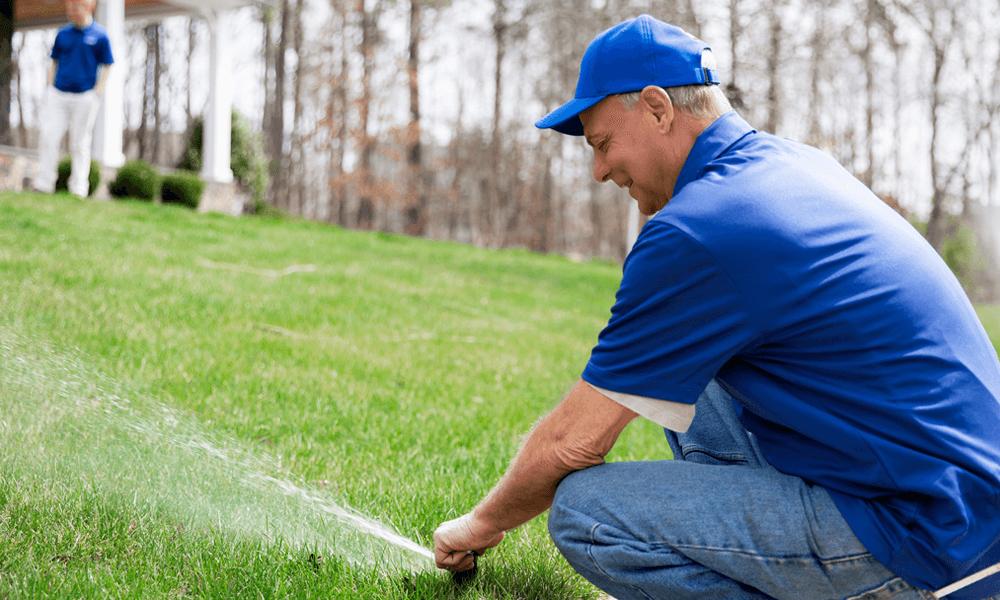sprinkler system maintenance Hampton Roads Virginia