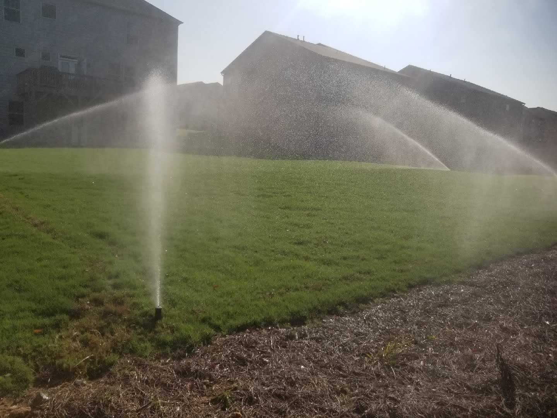 North atlanta sprinkler system keep lawn alive