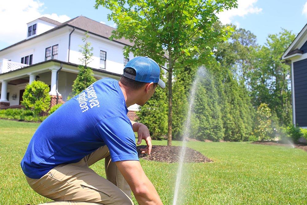 professional sprinkler repair