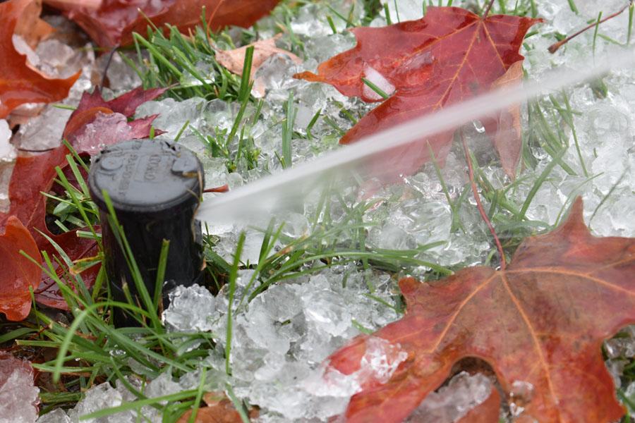 marlboro irrigation winterization blowout